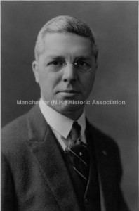 Portrait of George Sanford Foster, M.D. (1882-1945), founder of the Lucy Hastings Hospital in Manchester NH; Photographer: J.E. Purdy, Company, Manchester Historic Association