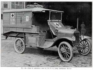 PURCELL ww1 ambulance