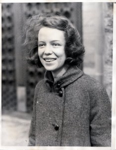 Isabel Scribner Stearns, 1935, taken at the time of her receiving the Mary Garrett Graduate European Scholarship