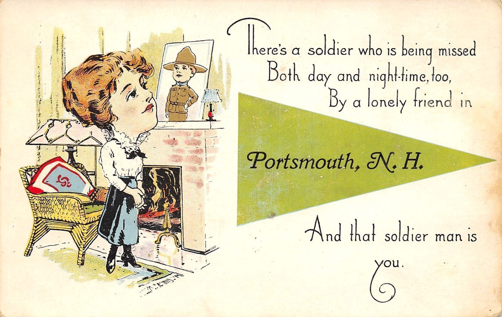 New Hampshire WWI Military: Heroes of Portsmouth | Cow Hampshire