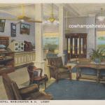 Rice-Varick Hotel lobby circa 1927