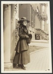 Photograph: Miss Sallie W. Hovey, Chairman, New Hampshire National Woman's Party. Just returned from Washington where she has been lobbying recalcitrant Senators from the New England States; ca 1917; Records of the National Woman's Party, Library of Congress, Manuscript Division, Washington DC; Digital ID: http://hdl.loc.gov/loc.mss/mnwp.152009