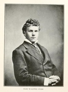 Sam Walter Foss as a young man, from History of New Hampshire by Everett S. Stackpole, p164