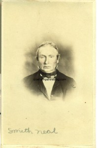 Photograph of Smith Neal (1806-1887) of Meredith NH