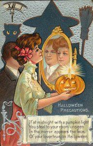 another halloween postcard