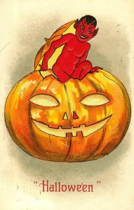 devil in a pumpkin victorian