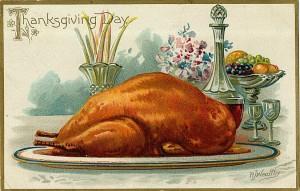 victorian turkey postcard