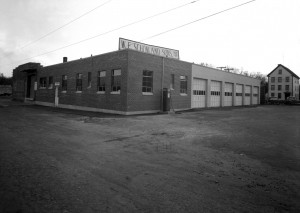 W.F. Schonland & Son's building on Blaine Street in Manchester NH, circa 1950. Photo by Peter C. Used with permission.