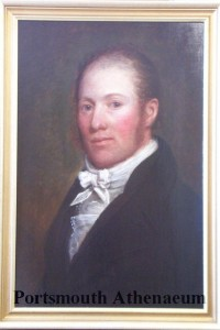 Painting of William Badger, painted probably between 1800-1810. Property of the Portsmouth Athenaeum.