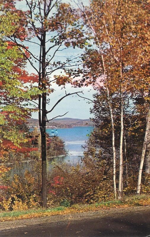 View of Lake Winnipesaukee- old postcard