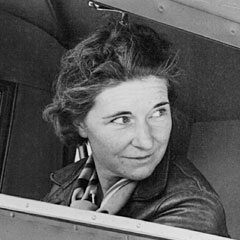 Bernice Blake Perry, aviator, Photographer and Philanthropist; photograph courtesy of the NH Charitable Foundation at http://tinyurl.com/csr947g