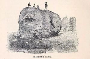 Elephant Rock in Newport NH