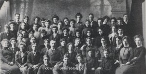 One of Hesser's earliest graduating classes.