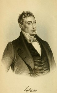 Likeness from The Life of General Lafayette, Marquis of France, General in the U.S. Army, Etc. Etc., by P.C. Headley, New York and Auburn, Miller Orton & Mulligan, NY, 1855