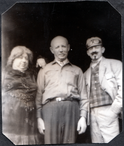 "Arthur ""Red"" Hebert and Herty Ring are two of these three people.  Hoping someone can identify them for me."