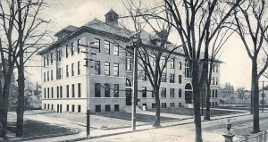 Portsmouth New Hampshire High School in 1911