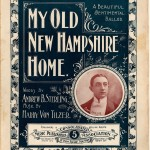My Old New Hampshire Home, Historical American Sheet Music, Duke University Library, Digital Collection