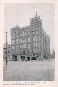In 1906 Will Nutting had a piano shop and warehouse at 4 Temple Street in the Oddfellows Building, Nashua NH
