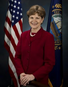 Jeanne Shaheen, former Governor of New Hampshire, currently State Senator
