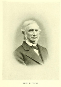 Likeness of Reed P. Clark, son of Ninian Clark, from page 1004 of  History of Rockingham County NH and representative Citizens,  published in 1915 by Richmond-Arnold Publishing Co., Chicago
