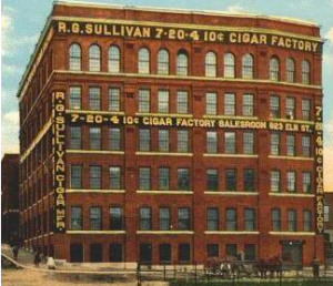 R.G. Sullivan Building in Manchester NH, cigar manufacturer