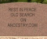 RIP Old Search on Ancestry.com