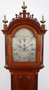 Example of a Levi Hutchins clock