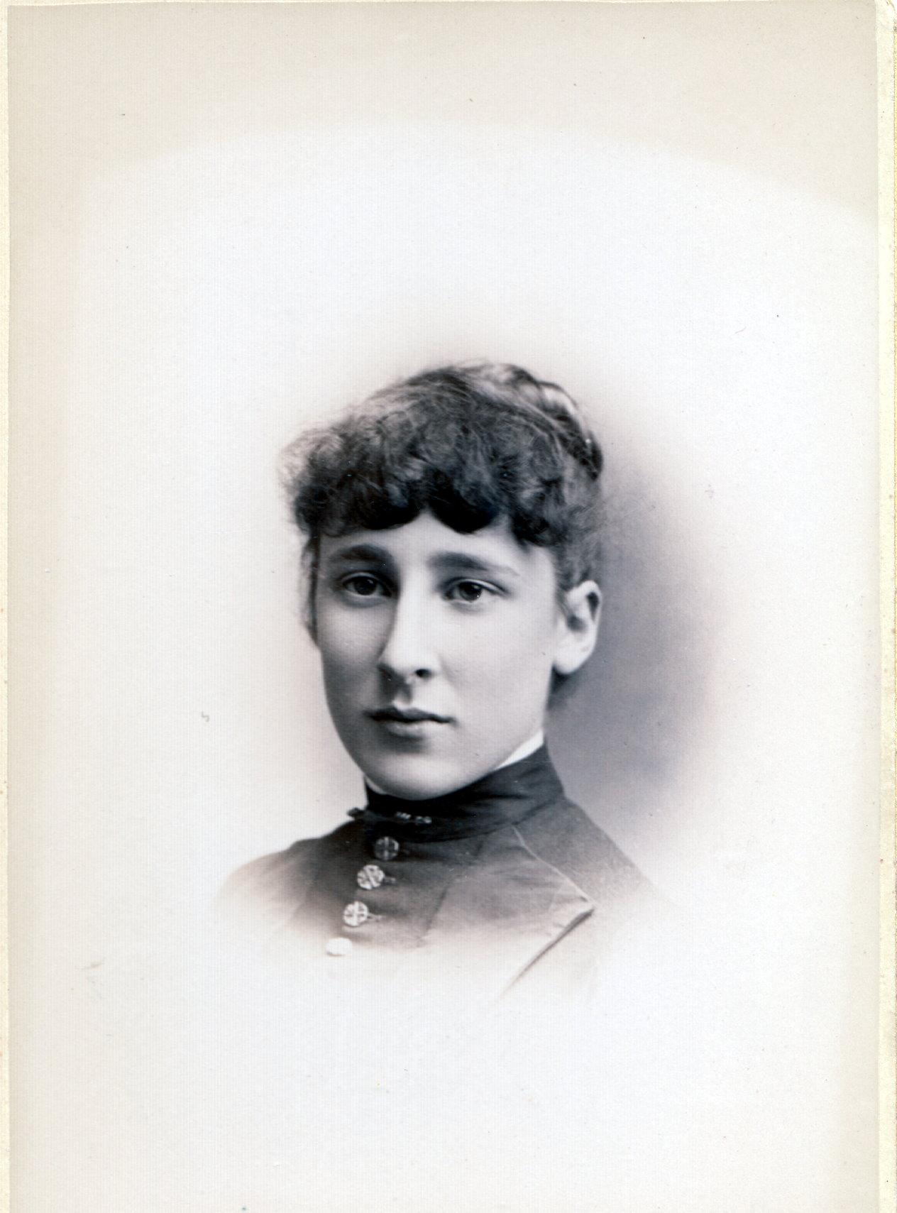 "Sarah ""Sadie"" G. Sawyer, 1888 Graduate of Manchester (NH) High School"