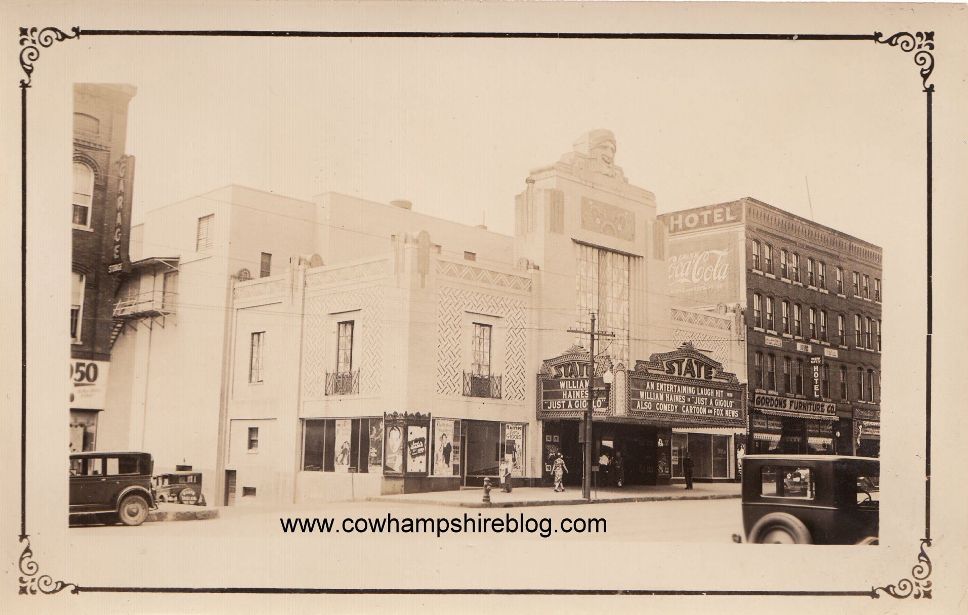 New Hampshire Missing Places: State Theatre of Manchester | Cow