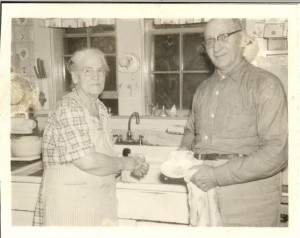 Mattie and Clarence Webster of Reeds Ferry, NH as I remember them.